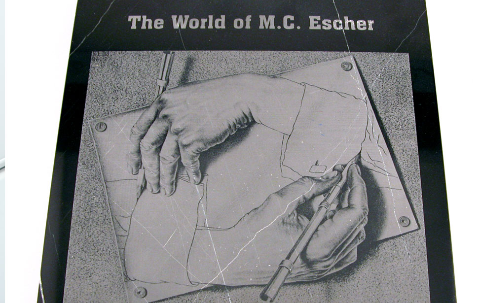 Escher Marble Engraving