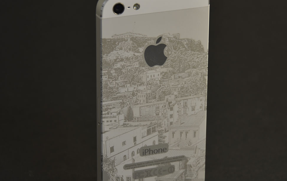 iPhone 5 Engraving
