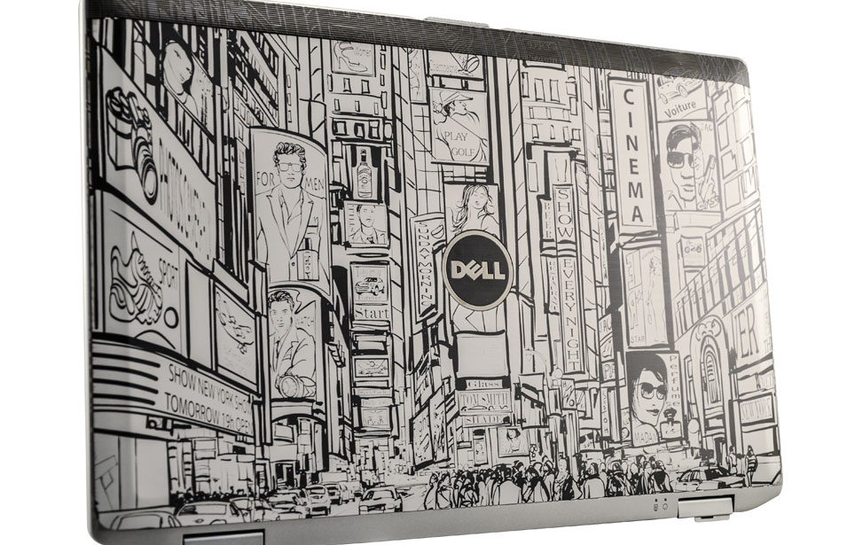 Dell Laptop Engraving - NYC