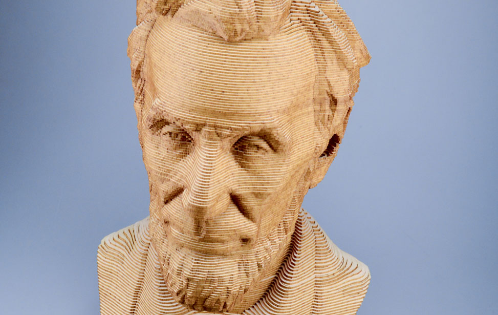3D Lincoln Bust - 123D Make