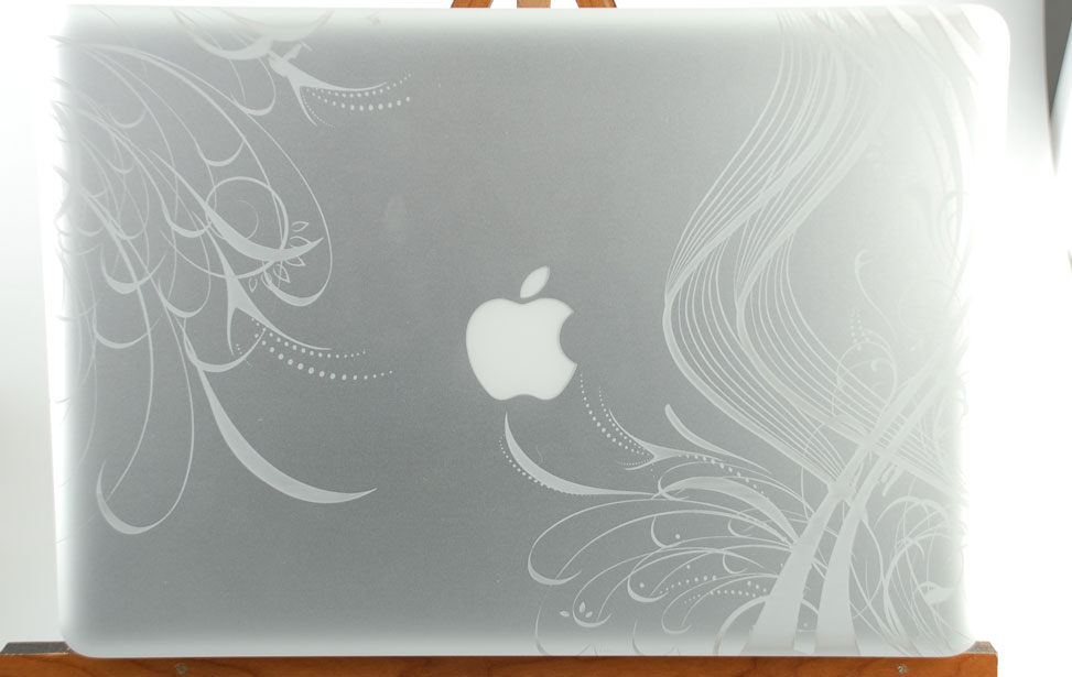 Macbook Pro Laser Engraving