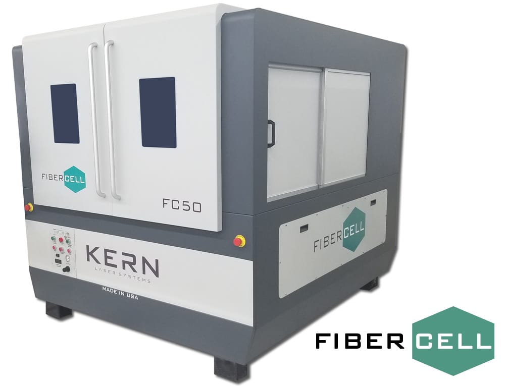 FiberCell Laser Cutter Machine